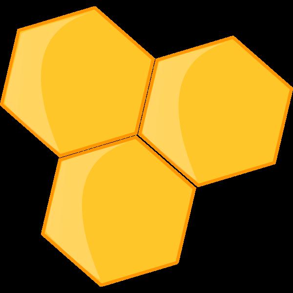 Vector clip art of honey icon