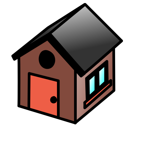 House icon vector drawing