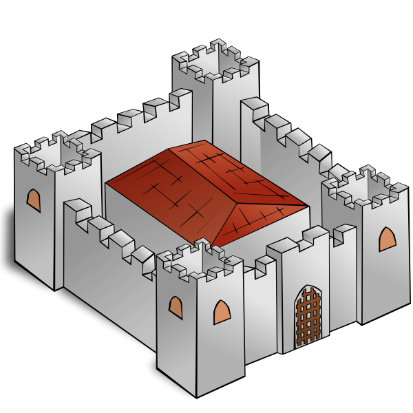 Fortress vector graphics