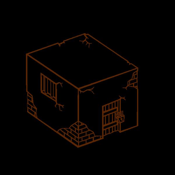 Prison vector icon graphics