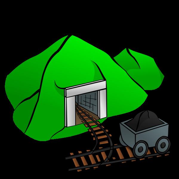 Mine vector graphics