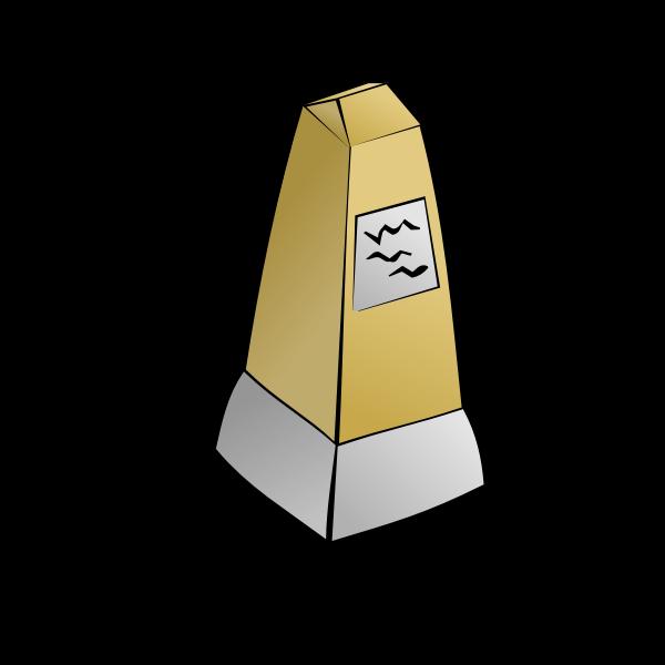 Obelisk vector image