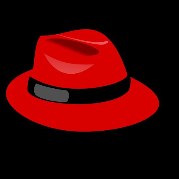 Fedora hat vector image