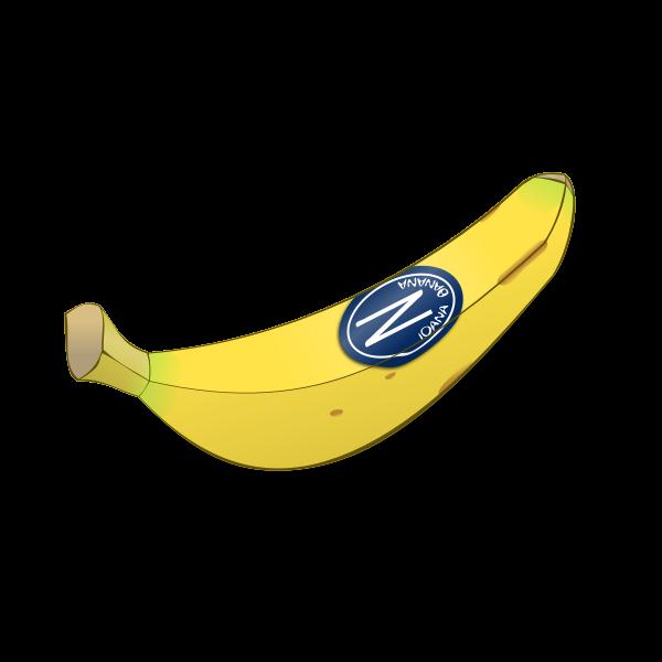 Banana vector clip art