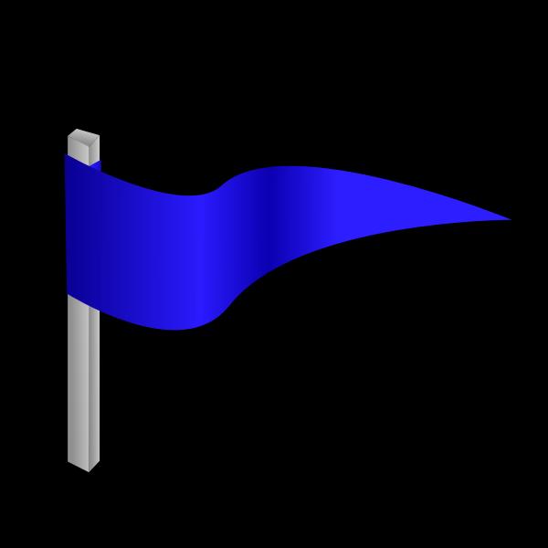Simple flag on a pole vector