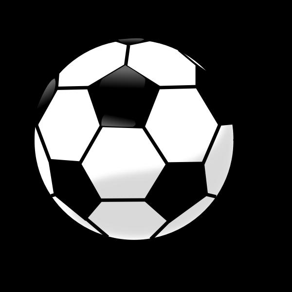 Soccer ball vector clip art graphics