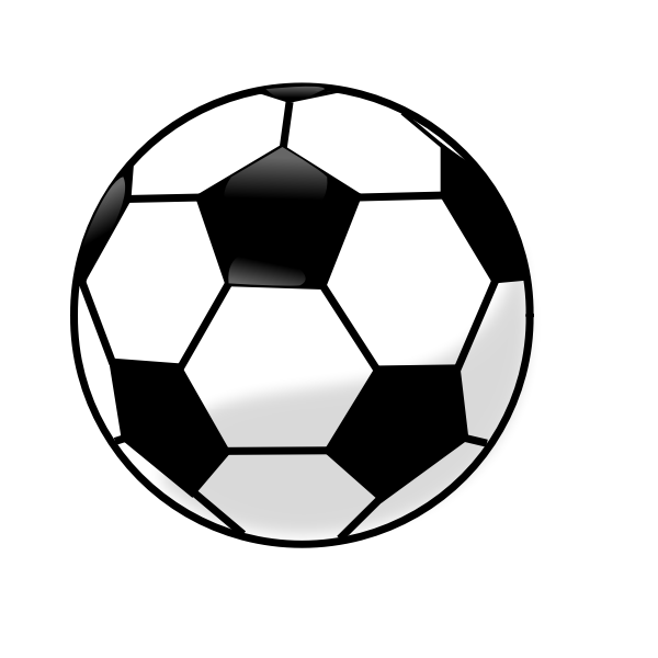 Soccer ball vector clip art graphics