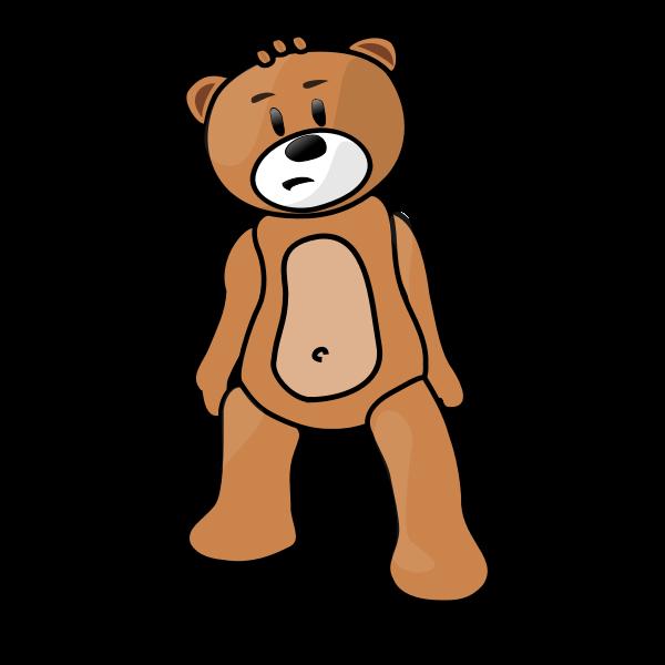 Teddy bear vector clip art
