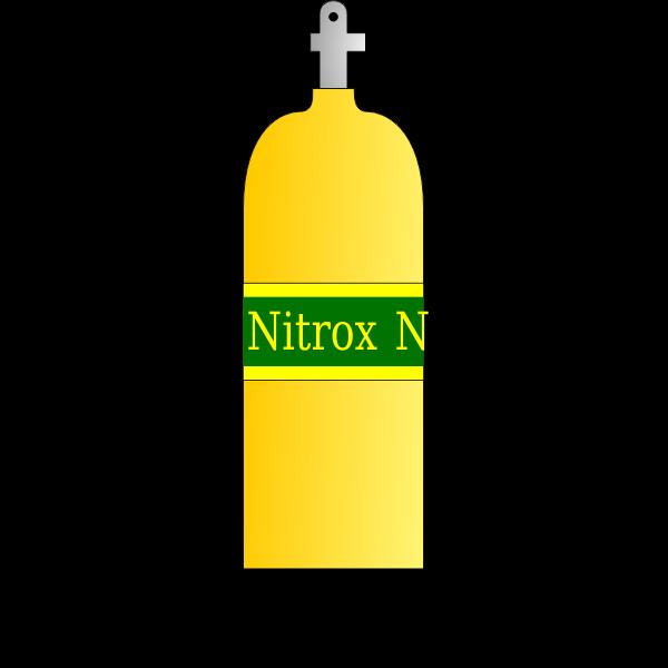 Nitrox scuba tank