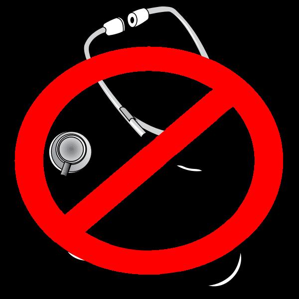 No doctors icon