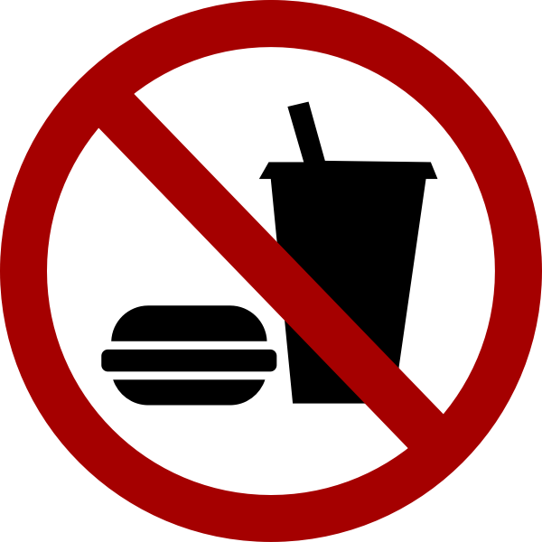 No food and drink vector sign image