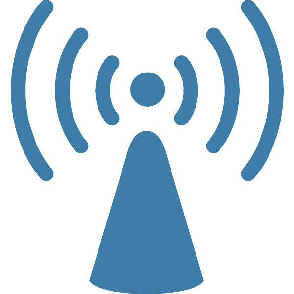 WiFi icon vector drawing