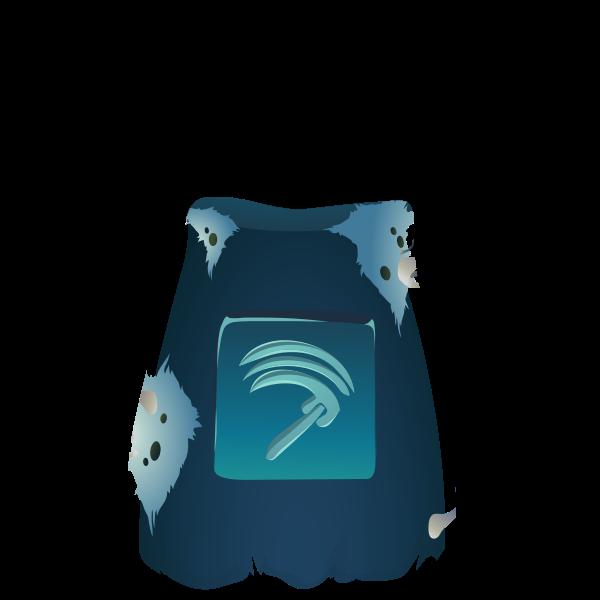 Blue pot image