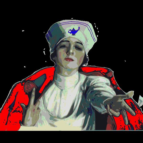 Vector illustration of nurse