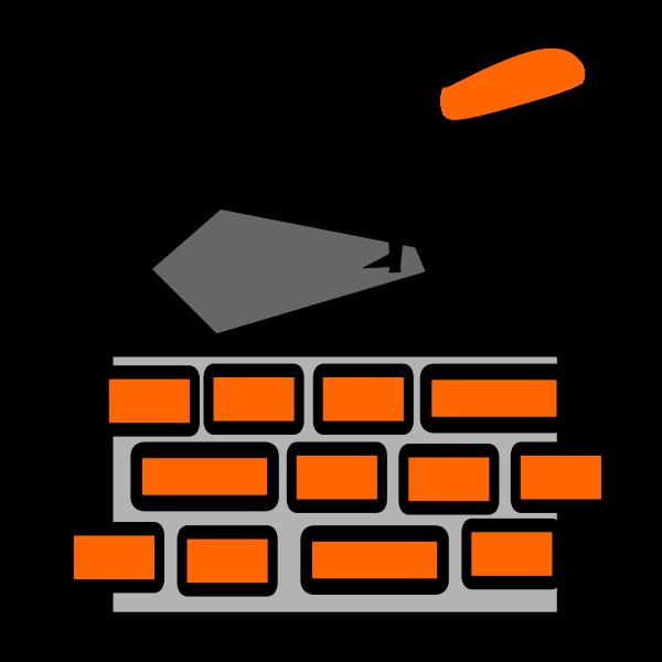 Clip art of mason tools