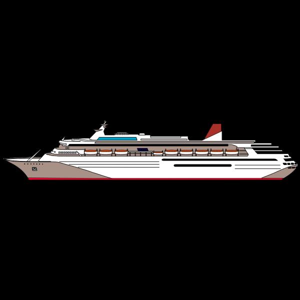 Ccean cruise ship