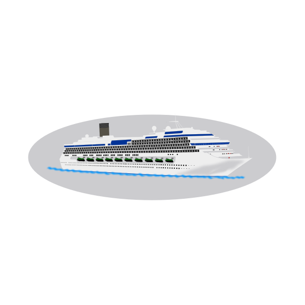 Big cruiser ship