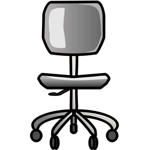 Office chair vector illusttaion