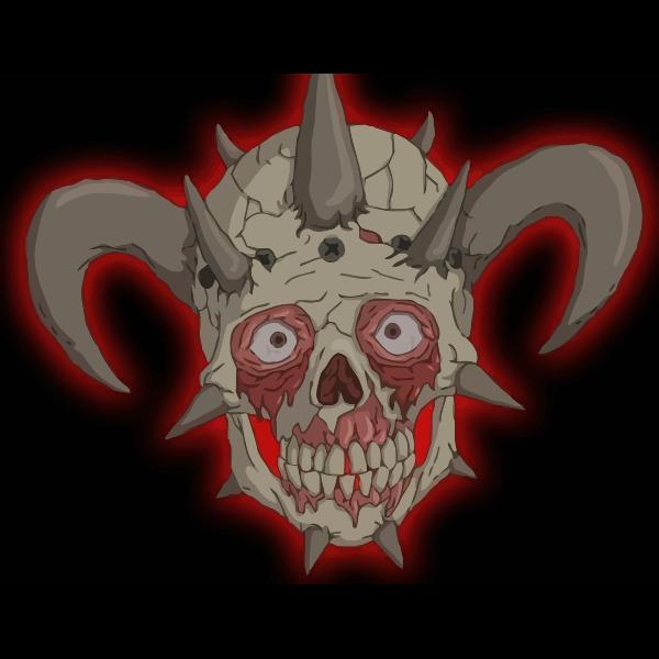 Scary facebones