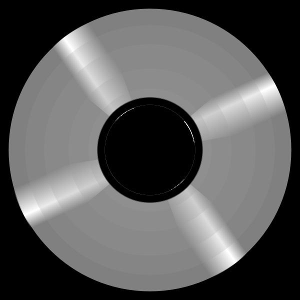 Optical disc vector image
