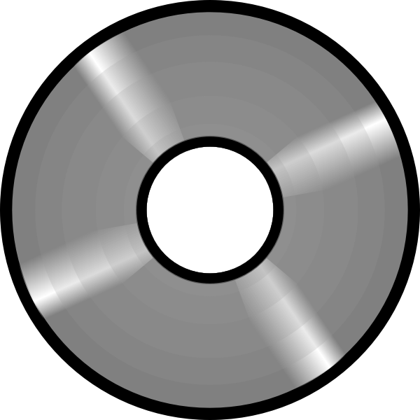 Optical disc vector image