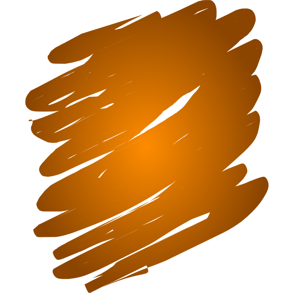 Orange Blend Scribble