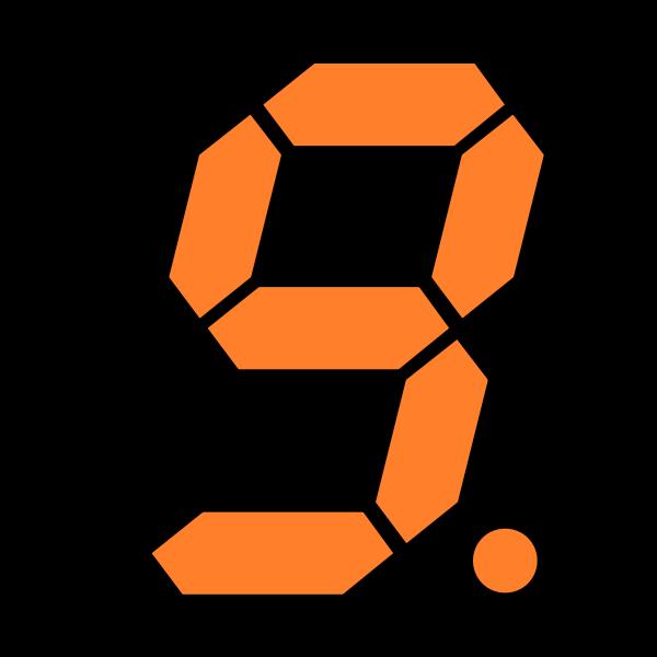 orange nine display