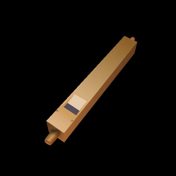 Vector illustration of folk pipe