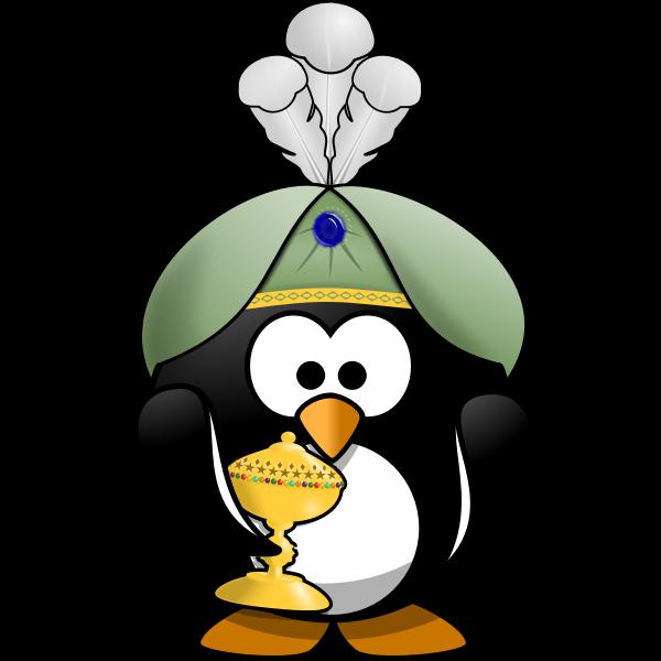 Oriental Penguin 2 - no mask