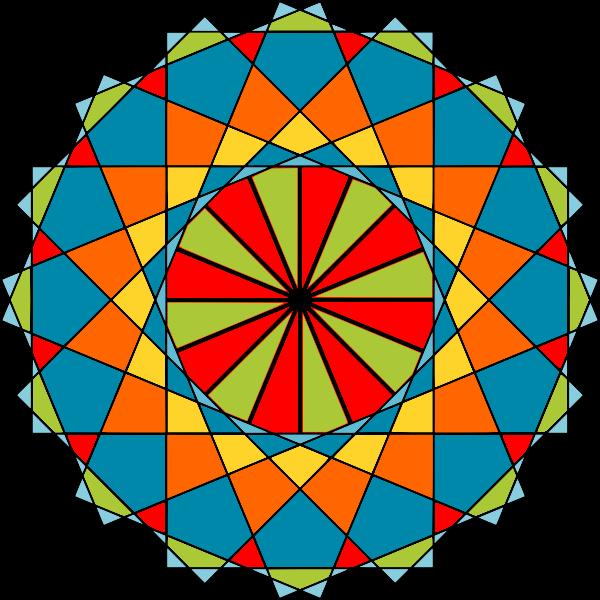 Islamic modern ornaments