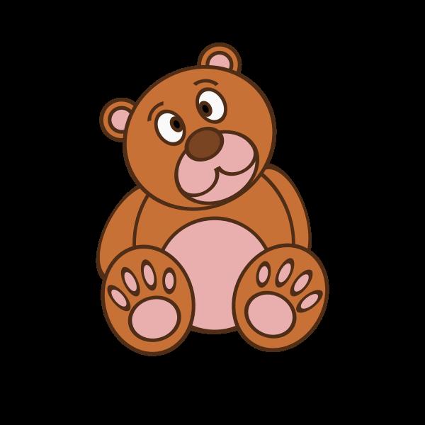 Stuffed bear toy