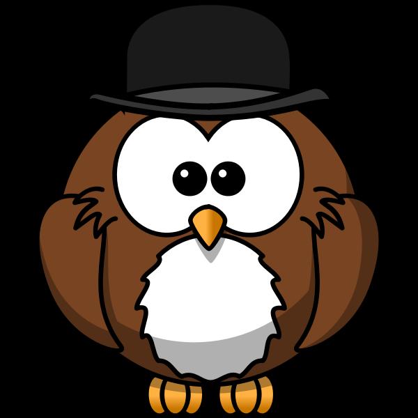 Cartoon image of an owl