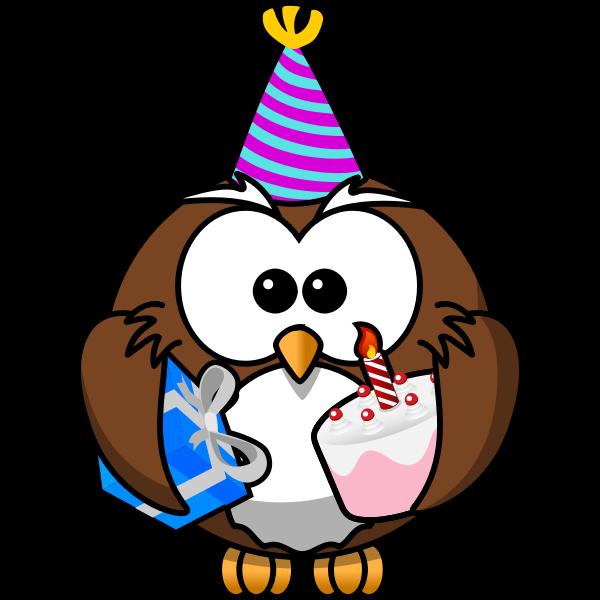 Owl at a celebration