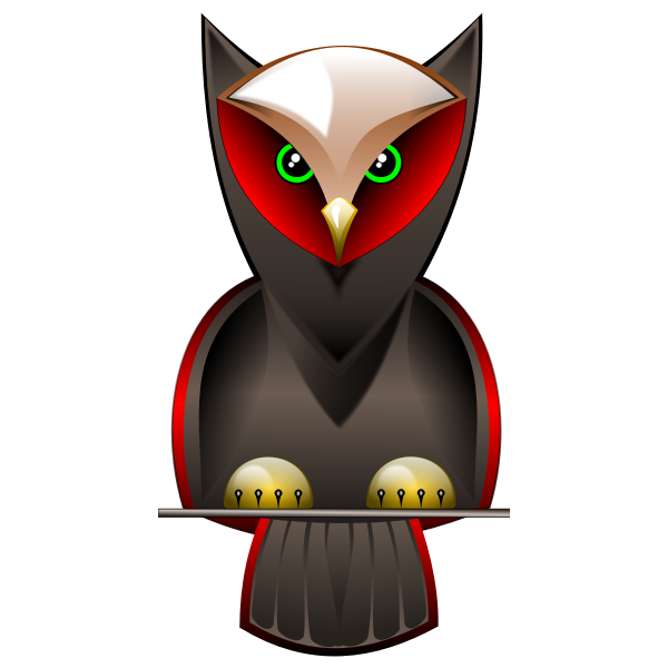 Owl vector graphics