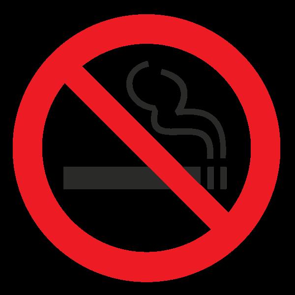 p01 znak zapreschaetsya kurit no smoking sign