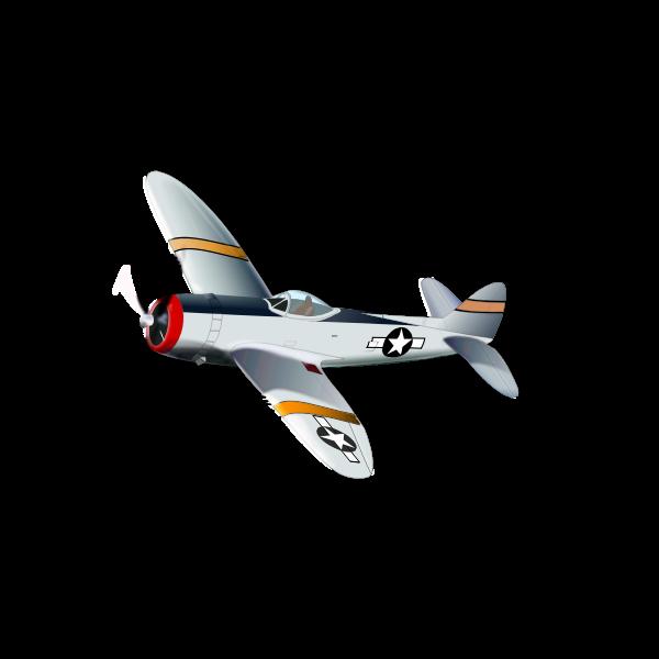 P47 Thunderbolt vector