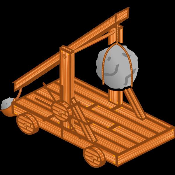 Trebuchet vector image