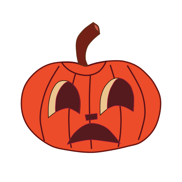 Halloween pumpkin 3 vector illustration