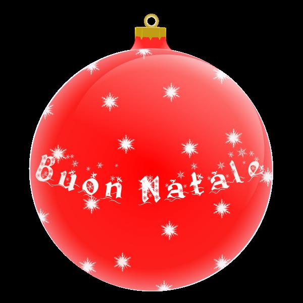 A Christmas tree ball vector illustration