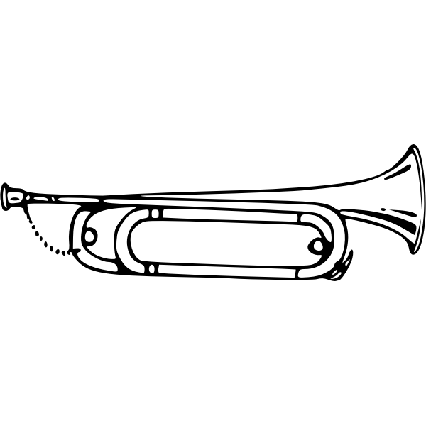 Bugle vector image