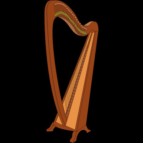 Harp vector illustration