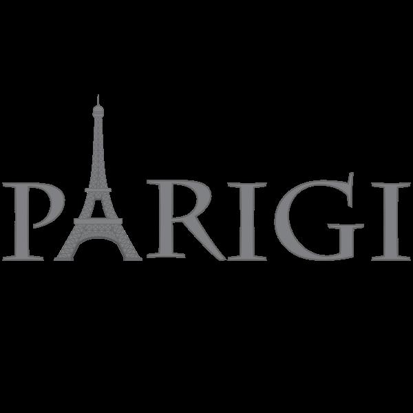 Parigi text logotype