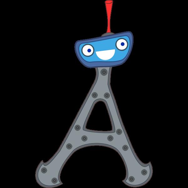 Cute Paris Eiffel Tower France vector image