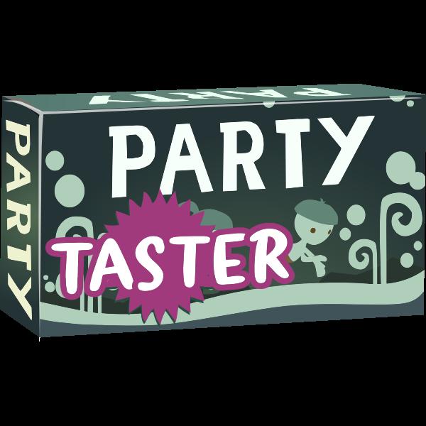 Party box with nylon pool