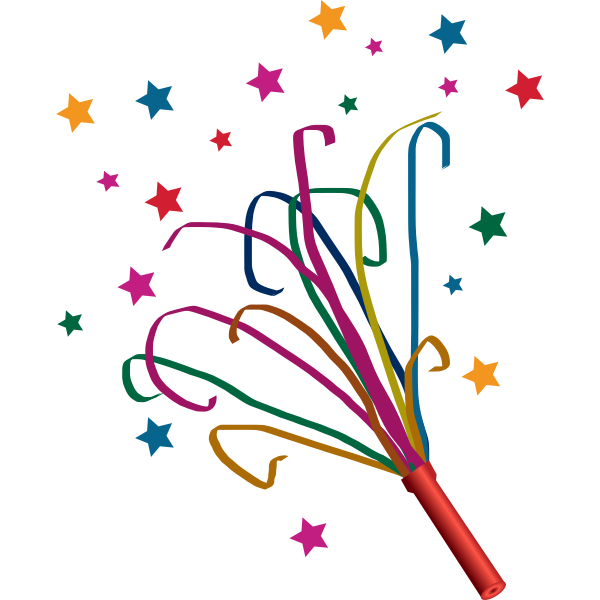 Confetti and stars