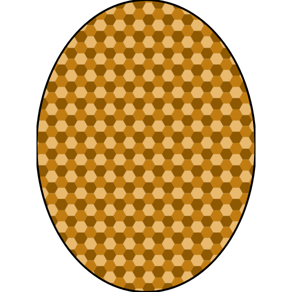 pattern honeycomb beige