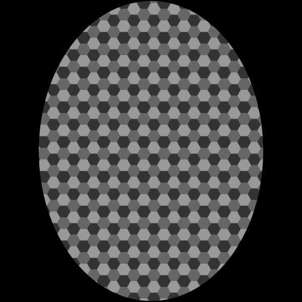 pattern honeycomb gray