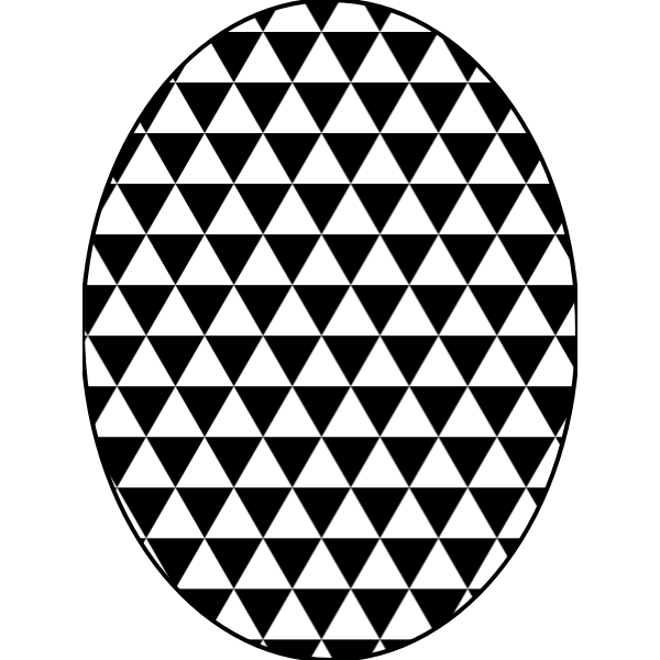 pattern triangular