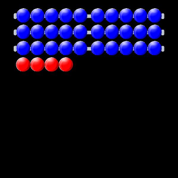 Many math beads