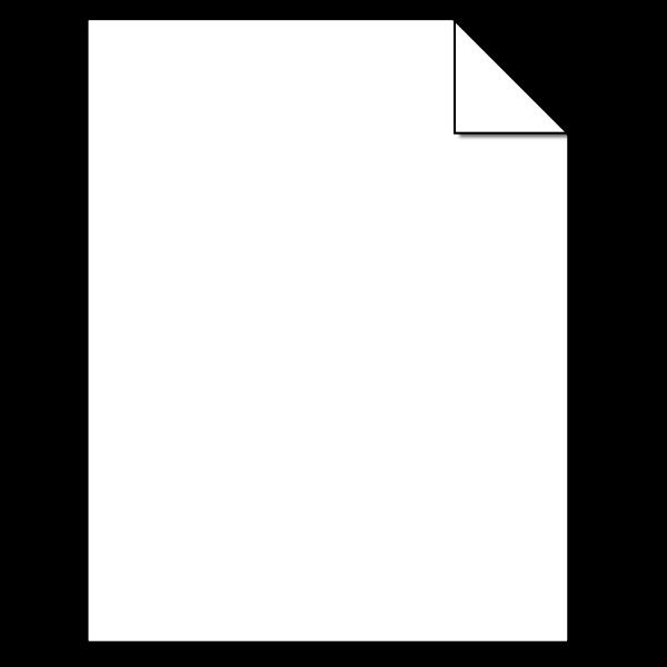 Blank sheet image